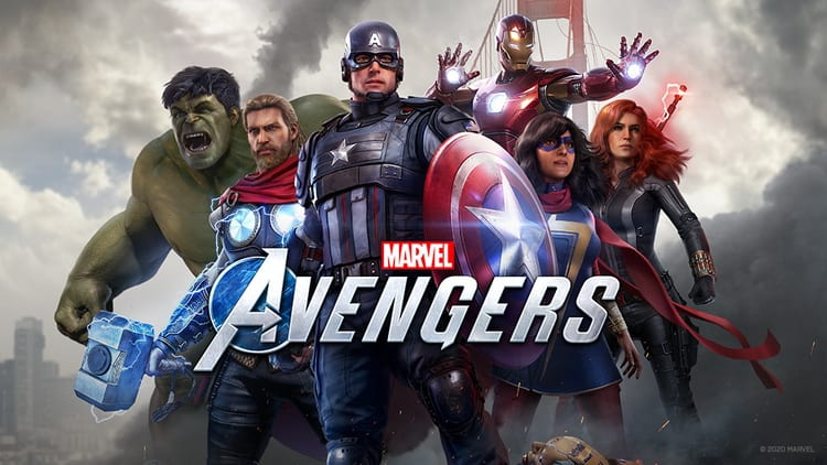 PS5 Marvel's Avengers